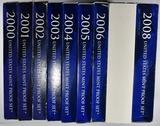 2000-2008 U.S. PROOF SETS
