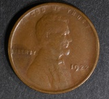 1922 NO D LINCOLN CENT  XF STRONG REV.
