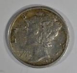 1919-S MERCURY DIME  AU