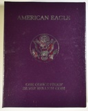 1987-S PROOF AMERICAN SILVER EAGLE ORIG BOX/COA