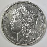 1878 7/8 TF MORGAN DOLLAR AU/BU CLEANED