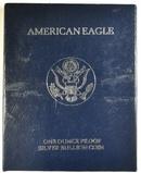 1994-P PROOF AMERICAN SILVER EAGLE ORIG BOX/COA
