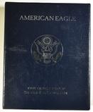 1997-P PROOF AMERICAN SILVER EAGLE ORIG BOX/COA