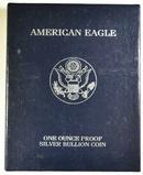 1999-P PROOF AMERICAN SILVER EAGLE ORIG BOX/COA