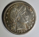 1902 BARBER QUARTER  CH BU  OLD CLEANING