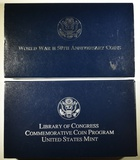 LOT OF 2 COMMEMORATIVE COINS: