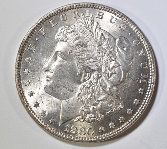 1880 MORGAN DOLLAR CH BU
