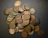 100 MIXED DATE INDIAN HEAD CENTS