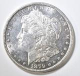 1879 MORGAN DOLLAR  CH BU DMPL