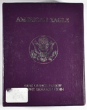 1988-S PROOF AMERICAN SILVER EAGLE   IN OGP