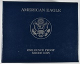 2007-W PROOF AMERICAN SILVER EAGLE IN OGP