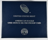 2015-W PROOF AMERICAN SILVER EAGLE IN OGP