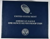 2017-W PROOF AMERICAN SILVER EAGLE  IN OGP