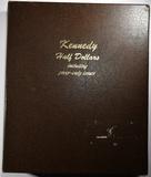 KENNEDY HALF DOLLAR DANSCO ALBUM - 142 COINS