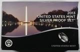 2013 U.S. SILVER PROOF SET NICE ORIG PACKAGING