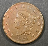 1828 LARGE CENT  AU