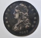 1835 BUST HALF DOLLAR  XF/AU