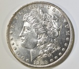 1883-O MORGAN DOLLAR CH/GEM BU