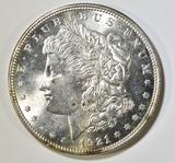 1921 MORGAN DOLLAR CH BU