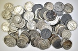 80 MIXED DATE 90% SILVER ROOSEVELT DIMES