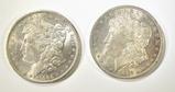 2-CH BU+ MORGAN DOLLARS 1884-O & 85-O