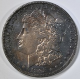 1892-S MORGAN DOLLAR XF COLOR!