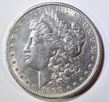 1897-O MORGAN DOLLAR  AU/BU