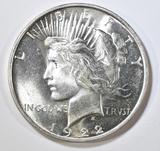 1922-D PEACE DOLLAR  GEM BU