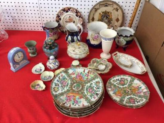 Porcelain, Rose Medallion, Etc