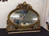 Early Wooden Mirror