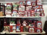 Large Assortment of Christmas Villages