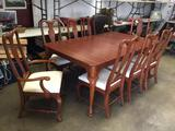 Lexington Table with 8 Chairs