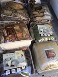 Assorted Comforters, Etc