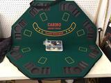 Folding Table Top Casino Board