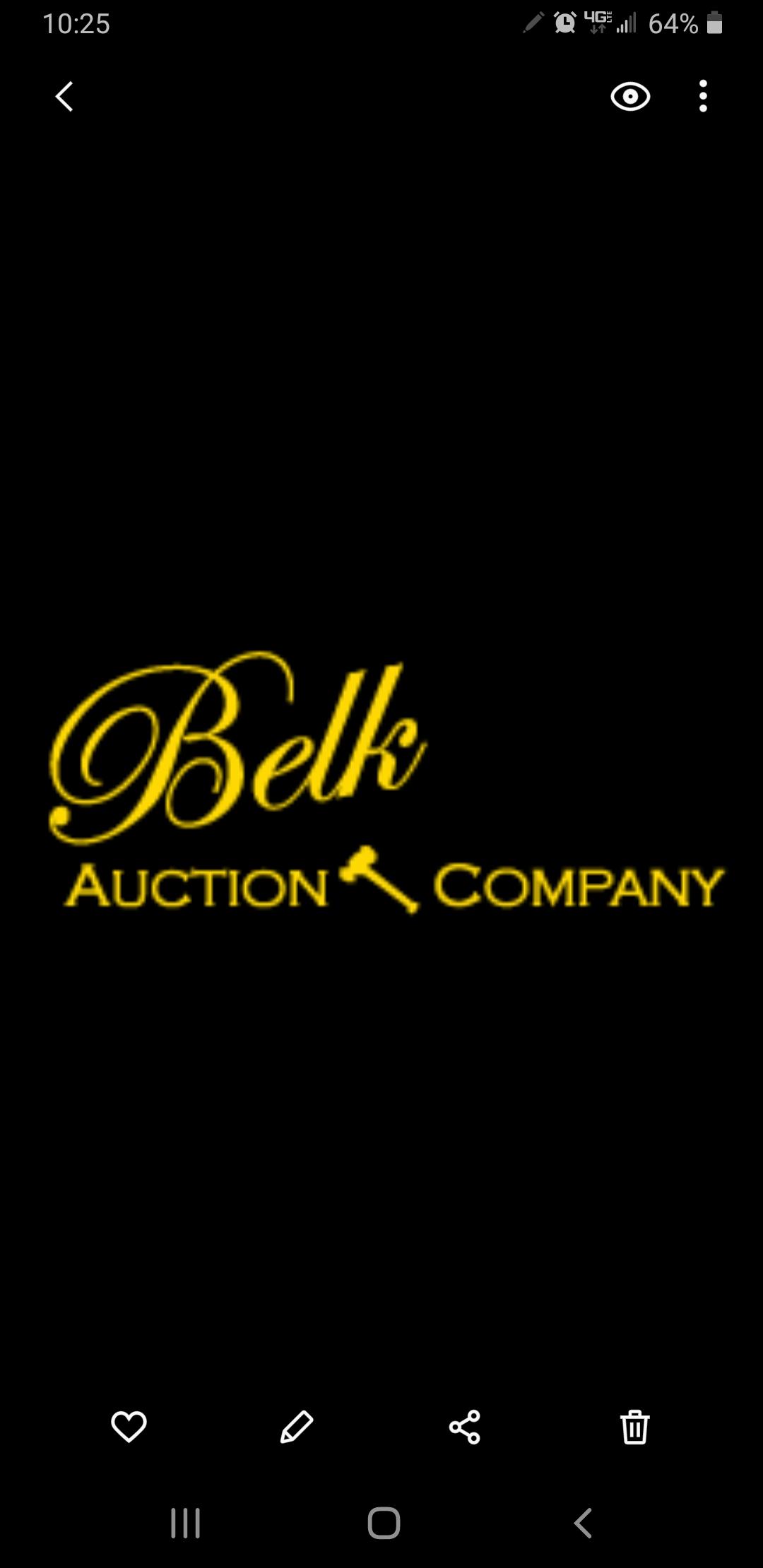 Belk Auction Company