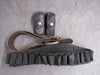 Leather belt, shotshell ammo belt, mag holder.