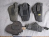 nylon holster lot. 5pc