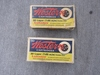 x2 vintage boxes of 30 luger, western.