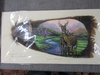 Turkey feather art and NWTF picture.