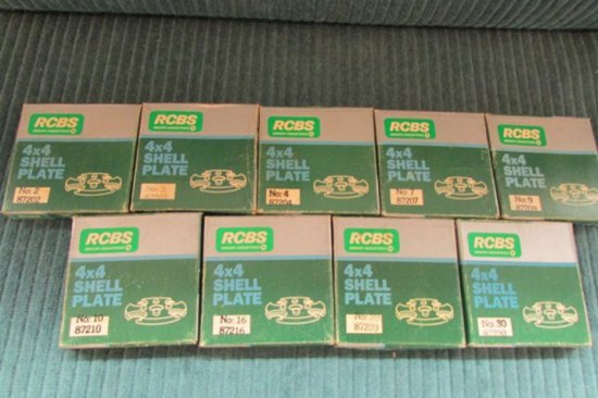 10 Rcbs 4x4 Shell Plates In Packages 87202 87203 87204 Auctions Online Proxibid