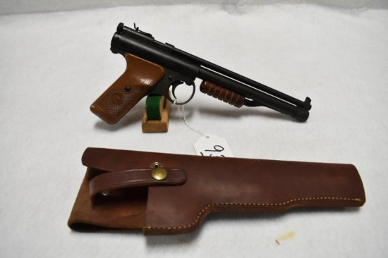 BENJAMIN FRANKLIN MODEL 132 22 CAL PUMP ACTION PELLET PISTOL