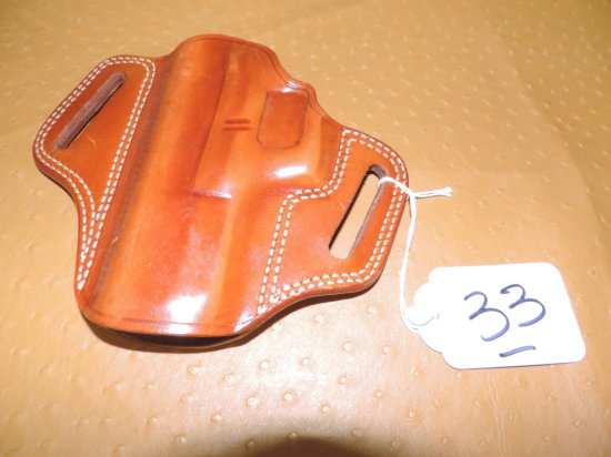 TAN LEATHER GALCO HOLSTER FOR 1911 MARKED B619T, M229