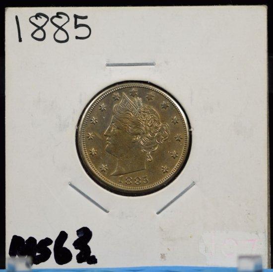 1885 V-Nickel CH UNC Golden Tone