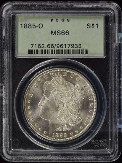 1885-O Morgan Dollar PCGS MS-66