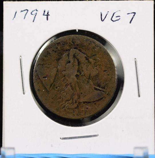 1794 Large Cent Very Good