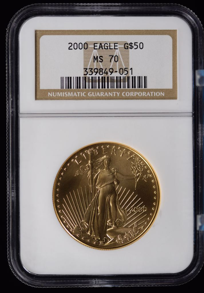2000 $50 Gold American Eagle 1 oz