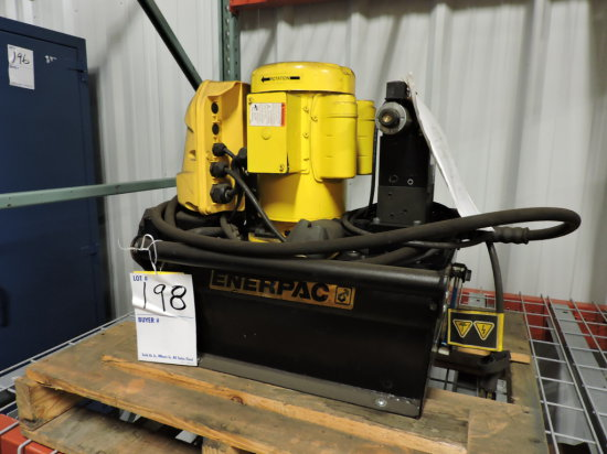 Enerpac Z Classe E4 - High Efficiency Single Stage Workholding Pump