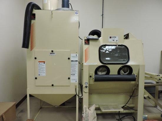 EMPIRE Pro-Finish Media Blasting Cabinet & Dust Collector