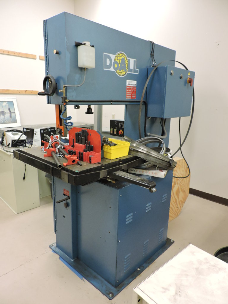 DoALL Vertical Metal Band Saw / Contour Machine - Model: 3612-VH