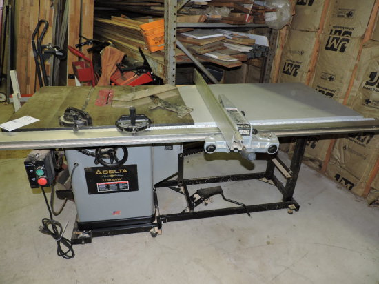 DELTA Platinum Edition UNISAW - Heavy Duty Table Saw
